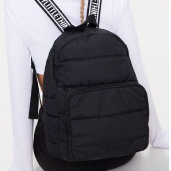 218502409d Pretty Little Thing small backpack